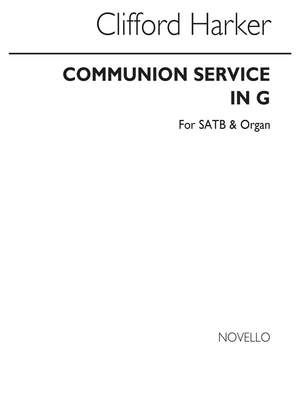 Clifford Harker: Communion Service In G