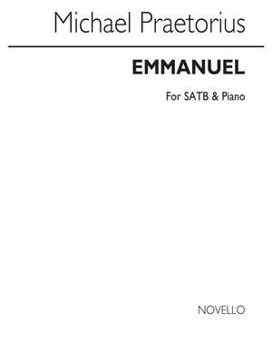Michael Praetorius_Walter Emery: Emmanuel (English Version By Walter Emery)(E/L)