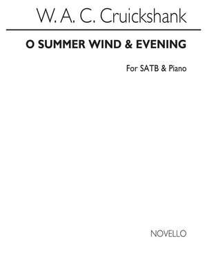 W.A.C. Cruickshank: Cruickshank-o Summer Wind / Evening