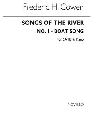 Frederic H. Cowen: Songs Of The River No.1 Boat Song