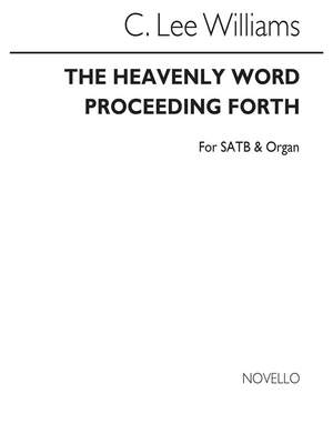 C. Lee Williams: The Heavenly World Proceeding Forth