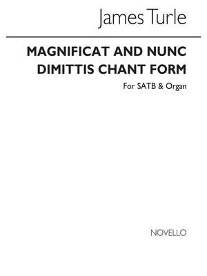 James Turle: Magnificat And Dimittis (Chant Form) In E Flat
