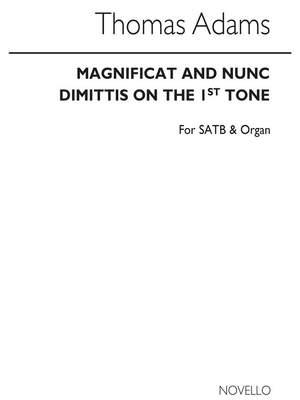 Thomas Adams: Magnificat and Nunc Dimittis (Gregorian Tones)