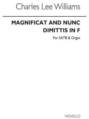 C. Lee Williams: Magnificat And Nunc Dimittis In F