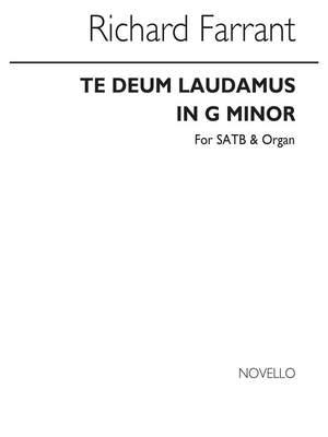Richard Farrant: Te Deum Laudamus In G Minor (Edited By John West)