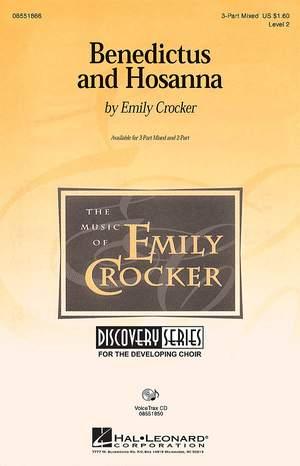 Emily Crocker: Benedictus And Hosanna (3-Part)