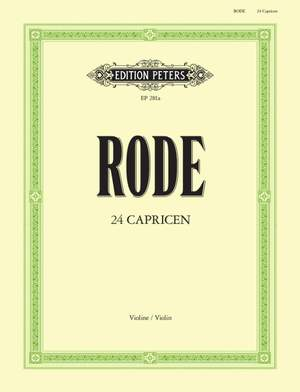 Rode, P: 24 Caprices