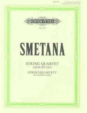 Smetana, B: String Quartet No.1 in E minor 'From My Life'
