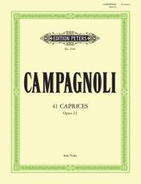 Campagnoli, B: 41 Caprices Op.22 for Solo Viola