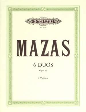 Mazas, J: 6 Duos Op.46