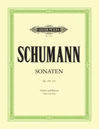 Schumann, R: Sonatas in A minor Op.105; D minor Op.121
