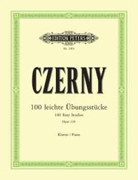 Czerny, C: 100 Easy Progressive Pieces without Octaves Op.139