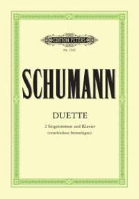 Schumann, R: 34 Vocal Duets