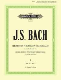 Bach, J.S: 6 Solo Violoncello Suites BWV 1007–1012 Vol.1