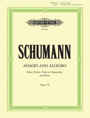 Schumann, R: Adagio and Allegro Op.70