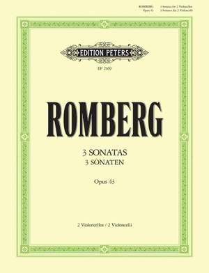 Romberg, A: 3 Duet Sonatas Op.43