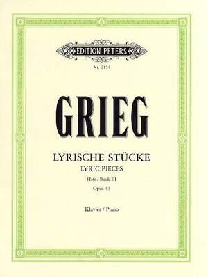 Grieg: Lyric Pieces Book 3 Op.43