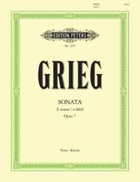 Grieg: Sonata in E minor Op.7