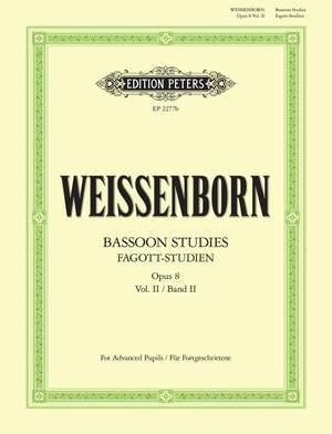 Weissenborn, J: Studies Op.8  Vol.2