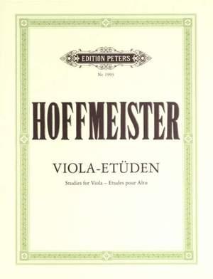 Hoffmeister, F: 12 Studies