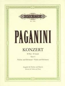 Paganini, N: Concerto No.1 in D Op.6