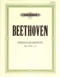 Beethoven: String Quartets, complete Vol.1