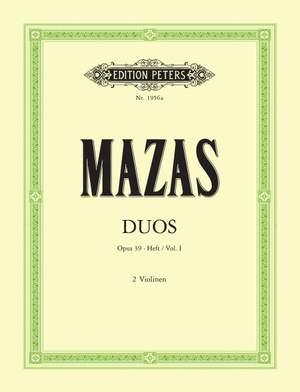 Mazas, J: Duets Op.39 Vol.I