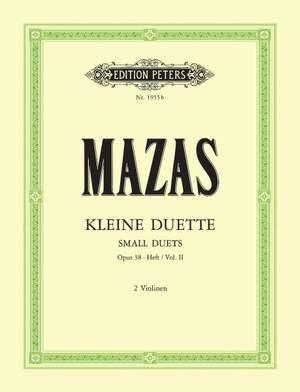 Mazas, J: Small Duets Op.38 Vol.II