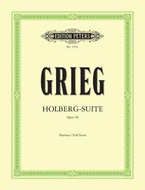 Grieg: Holberg Suite Op. 40