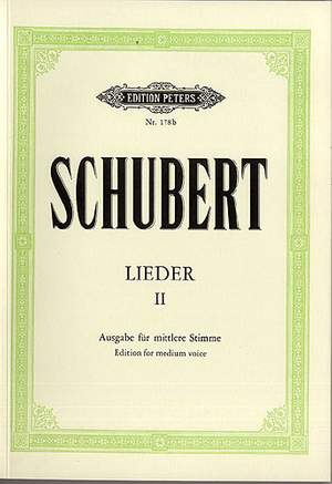 Schubert: Songs Vol.2: 75 Songs