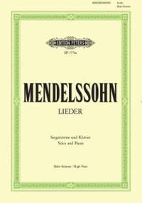 Mendelssohn, F: Complete Songs