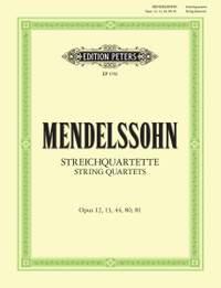 Mendelssohn, F: 7 String Quartets