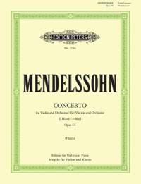 Mendelssohn, F: Concerto in E minor Op.64