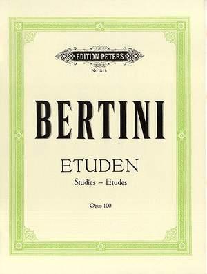 Bertini, H: 25 Easy Studies Op.100