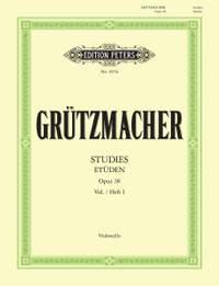 Grutzmacher, F: 24 Studies Op.38 Vol.1