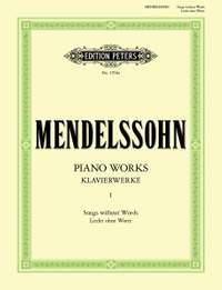 Mendelssohn, F: Complete Piano Works Vol.1