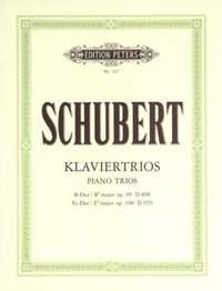 Schubert: Piano Trios in B flat Op.99; E flat Op.100