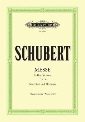 Schubert: Mass No.5 in A flat D678