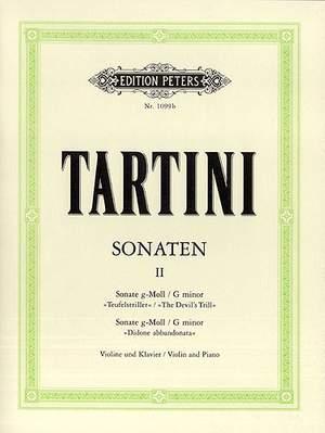 Tartini, G: Sonatas Vol.2