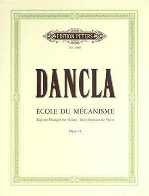 Dancla, C: École de Mécanisme (50 Technical Studies) Op.74