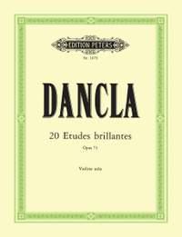 Dancla, C: 20 Violin Etudes (Etudes brillantes) Op.73