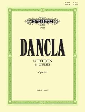 Dancla, C: 15 Studies Op.68 for 2 Violins