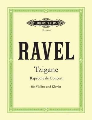 Ravel, M: Tzigane
