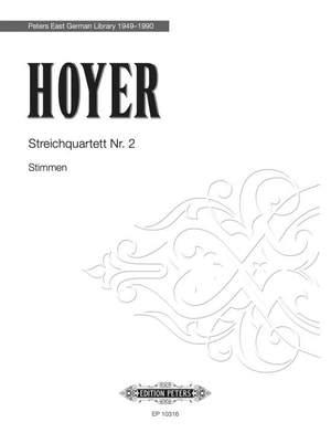 Hoyer, R: String Quartet No 2