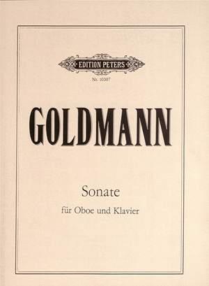 Goldmann, Friedrich: Sonate für Oboe und Klavier