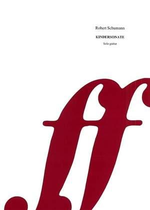Schumann, Robert: Kindersonate (guitar)