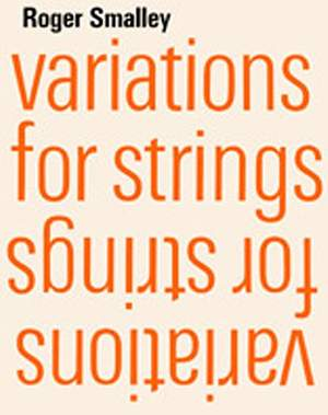 Roger Smalley: Variations for strings