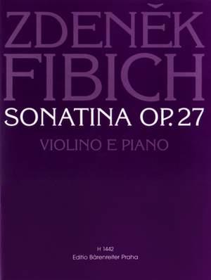 Fibich, Z: Sonatina, Op.27