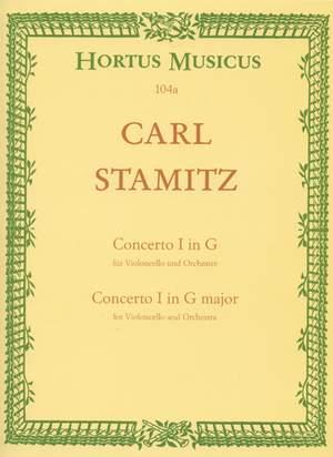 Stamitz, C: Concerto for Cello No.1 in G
