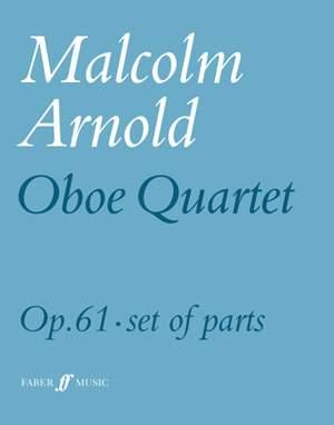 Arnold, Malcolm: Oboe Quartet (parts)